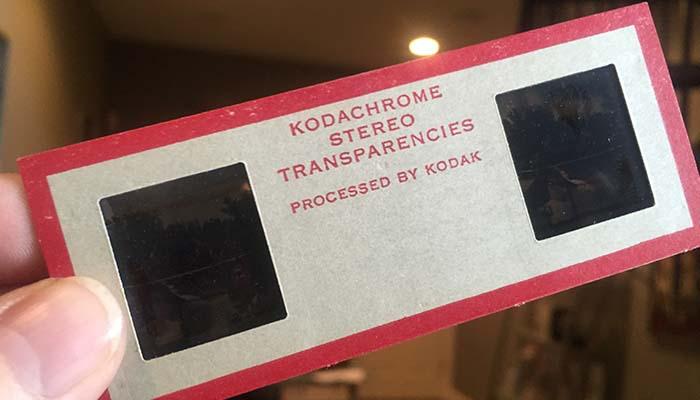 kodachrom stereo slide