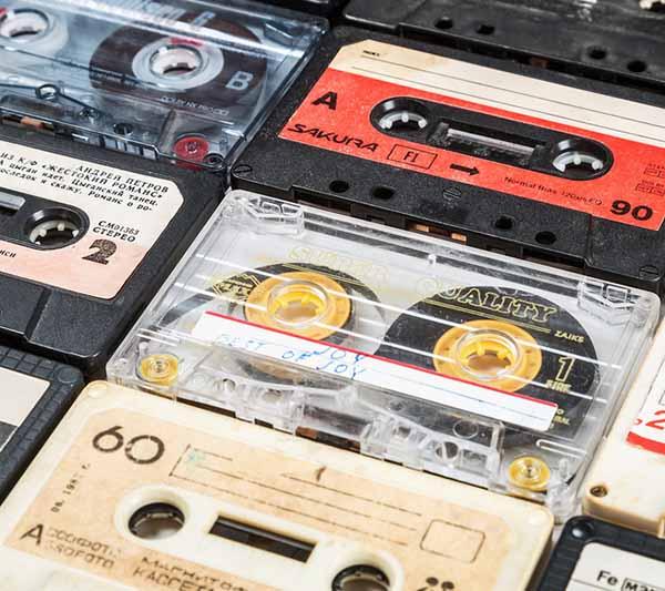 audio tape small