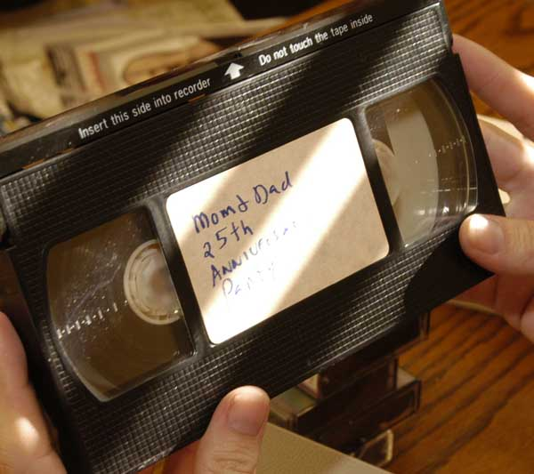 video tapes small